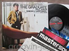 SIMON&GARFUNKEL The Graduate JAPAN MASTER SOUND LP w/2 BOOKLETS 30AP2298 Free SH