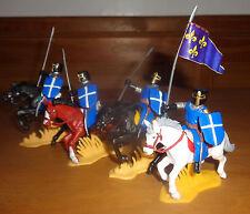 mounted REIGN JERUSALEM LANCERS ARGENTINA DSG Medieval Plastic Soldiers Britains