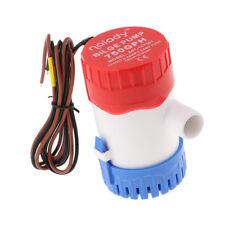 Pompe à eau submersible marine de la cale 12V 750GPH - non-automatique