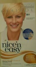 2 x CLAIROL NICE N EASY PERMANENT COLOUR SB1 NATURAL LIGHT NEUTRAL SUMMER BLONDE