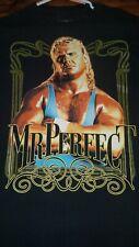 WWE Mr. Perfect GU T-Shirt Size L Large Tee EUC Curt Hennig Legends Throwback