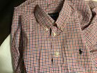 Special patriotic Ralph Lauren red,white and blue boys shirt size 12, Look!