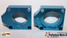 Honda Crf450x Crf 450x Wheel Chain Axle Blocks Pro Factory Mx Blue 2005-2014