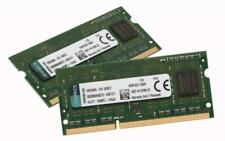 8GB 2x4GB PC3-12800 DDR3 1600Mhz 204-Pin SODIMM Laptop RAM - Samsung/Asus/Dell