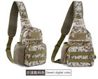 Fashion Tactical Sling Chest Pack Bag Molle Daypack Backpack Outdoor Bag