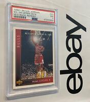 "Michael Jordan PSA 7 Upper Deck ""He's Back"" LAST DANCE 1994 #23 Chicago INVEST"