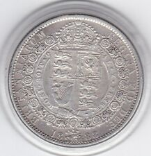 1888  Jubilee  Head  Half  Crown  (2/6d) -  Sterling  Silver  Coin