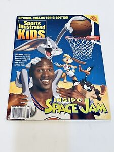 Sports Illustrated for Kids Michael Jordan MJ Space Jam With Poster Attached!