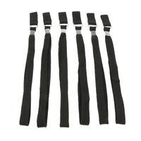 6pcs Sports Hiking Stick Walking Cane Ropes Crutch Wrist Straps Wristband