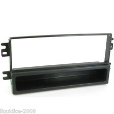 CT24KI01 FOR KIA SEDONA 2002 to 2006 BLACK SINGLE DIN FASCIA ADAPTER PANEL PLATE