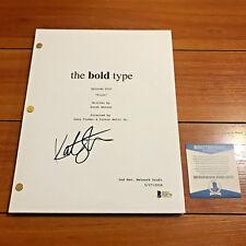 KATIE STEVENS SIGNED THE BOLD TYPE FULL 61 PAGE PILOT SCRIPT w/ BECKETT BAS COA