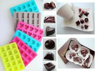Silikon Pralinen Pralinenform Eiswürfel Schokolade Rechtecke Welle Türkis