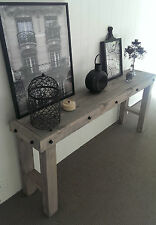 New Handmade 1.7 m Rustic French Chateau Hamptons Style Hall Table/Console