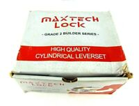 """Maxtech 2-3/4"""" Satin Chrome US26D, Entry Lock Grade 2 Commercial Cylinder"""