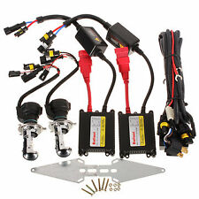 H4 HID Xenon 55W Conversion Kit Slim Ballasts Halogen Low Xenon High Beam