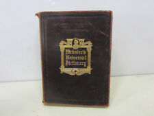 1912 India Paper Edition Webster's Universal Dictionary -Leather Bound B#215