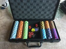 300 Monte Carlo 3-Tone Poker Chips