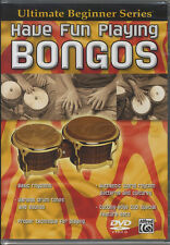 Have Fun Playing Bongos Hand Drum Tuition Method DVD