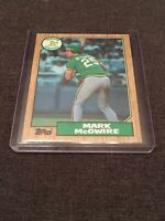 Mark McGwire 1987 Topps Rookie Card # 366