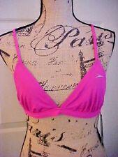 Ladies Bikini Top Swim Wear Size XS Speedo Blazing Pink Chlorine Resistant
