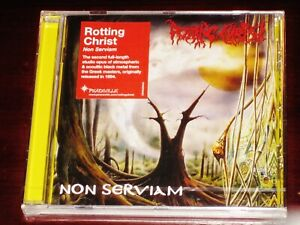 Rotting Christ: Non Serviam CD 1994 / 2019 Reissue Peaceville EU CDVILED643 NEW