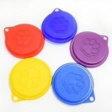 UP 3PCS standard tin covers dog cat pet food can cover lid 75mm lids