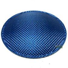 "5.1"" (130mm) Blue Carbon Fiber Speaker Subwoofer Dust Cap"