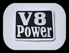 V8 Power,patch,Patches,aufbuegler,BADGE,motard,chevy ,Dodge,hémi ,Ford ,MOPAR