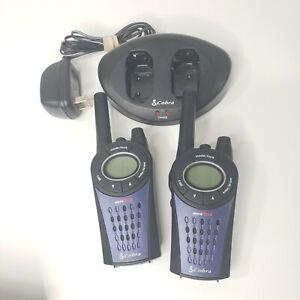 Cobra MicroTalk PR3500DX with Chargers 2 Way Radios Walkie Talkie Handheld