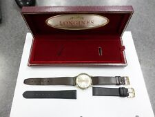 Longines Vintage Oldsmobile sales managers Watch 14k gold with box Rare and Nice