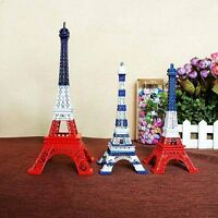 18cm/25cm Paris Eiffel Tower Metal Home Decor Gift Table Ornament Statue