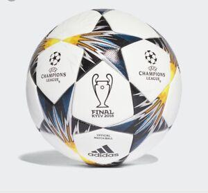 Adidas UEFA Champions League Finale 18 KYIV SOCCER Ball Size 5 NEW