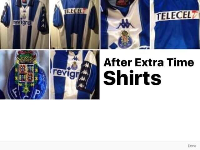 After Extra Time Shirts