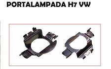 COPPIA ADATTATORI PORTALAMPADA LED FARO XENON H7 LANCIA BMW OPEL VW AUDI