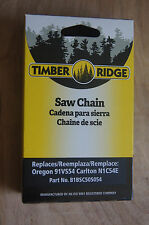 """CHAINSAW CHAIN 3/8"""" Low Profile .050"""" 54 DRIVE LINKS * Timber Ridge  * NEW *"""