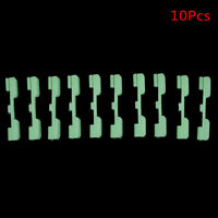 10 Pcs Night Fishing Rod Tip Light Holder Clip Fishing Rod Fluorescent Stick+X
