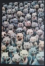 Dobra Lystivka Art Postcard - Zombie Cats by Tim Molloy