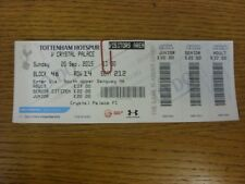 20/09/2015 Ticket: Tottenham Hotspur v Crystal Palace  . Bobfrankandelvis (aka F