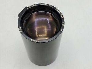 """Kodak Projection Ektanar Lens 5"""" Inch F2.8 for Carousel, Ektagraphic Projector"""