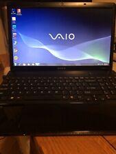 Sony Vaio Laptop Windows 7 VPCEB290X 15 inch