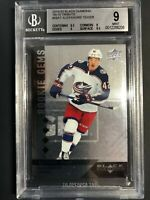 2019-20 Black Diamond Alexandre Texier Rookie Gems 09-10 Tribute /99 BGS 9