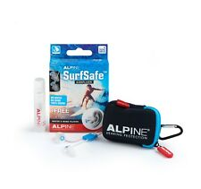 SurfSafe Ear Plugs Swimming Safety Alpine Hearing Protection Swim Water Surf