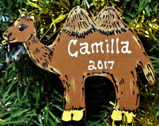 CAMEL Ornament U CHOOSE NAME & YEAR Personalized Name Christmas Decor Holiday