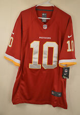 Nike Washington Redskins Jersey #10 Robert Griffin III RG3 Mens XL Red NFL Sewn