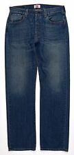 LEVI'S 501 * STRAIGHT LEG * Jeans Mens Size 34 X 34 ( 33 X 33 1/2 )