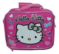 HELLO KITTY PINK LUNCHBOX LUNCH BAG NEW WITH TAGS