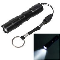 5W Police LED Mini Waterproof Ultra Bright Flashlight Torch Camping Hiking DH