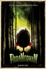 """PARANORMAN 2012 Advance Teaser DS 2 Sided 27x40"""" US Movie Poster Anna Kendrick"""