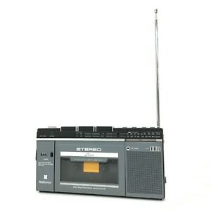 National RX-2700 Cassette Recorder Portable Radio AM/FM Made in Japan [HS]