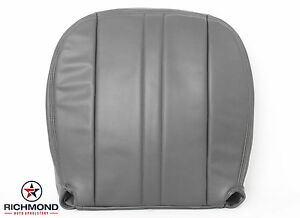2003-2013 Chevy Express 1500 2500 3500 Van -Driver Bottom Vinyl Seat Cover GRAY